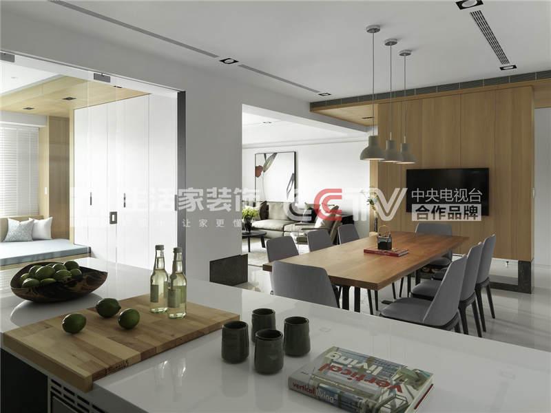 后现代厨房装修效果图 后现代厨房装修技巧 成都家装公司样板间