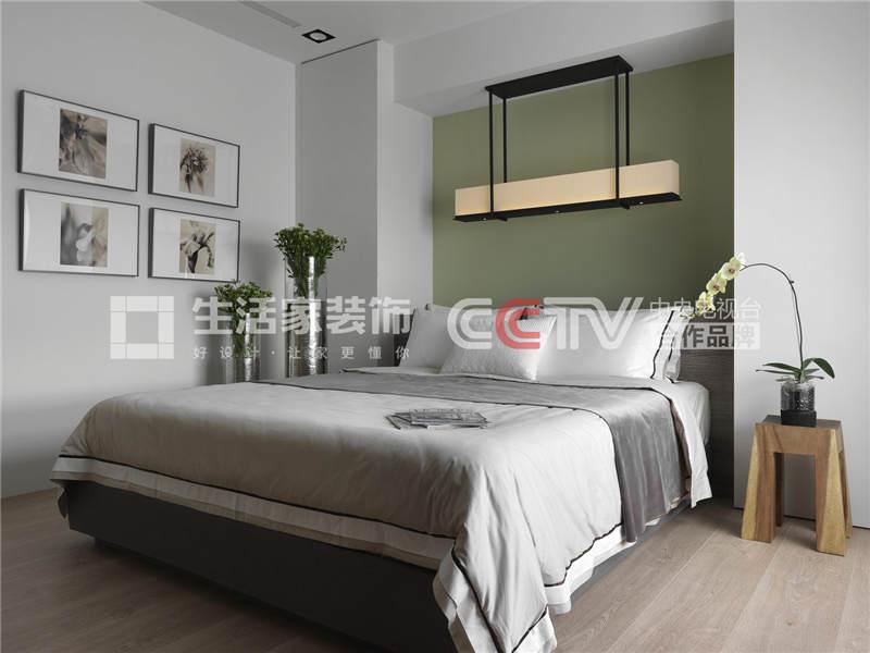 后现代卧室装修效果图 后现代卧室装修技巧 成都家装公司样板间