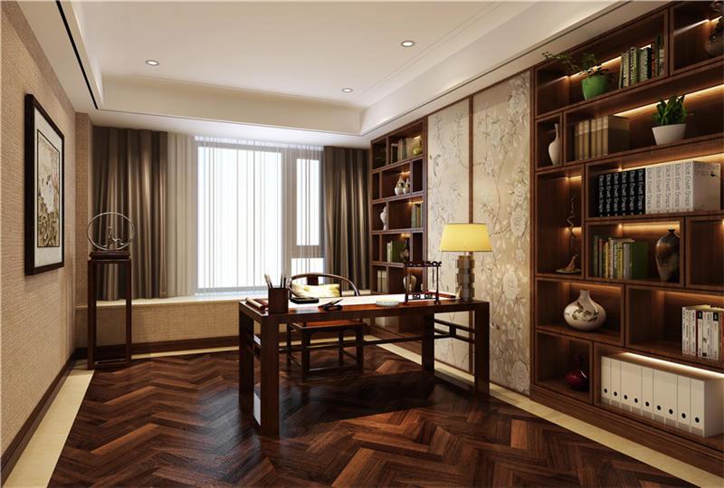 中式装修书房