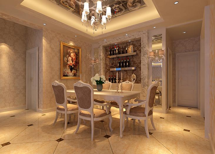 豪华、优雅、和谐、舒适、浪漫是本方案最大的亮点。