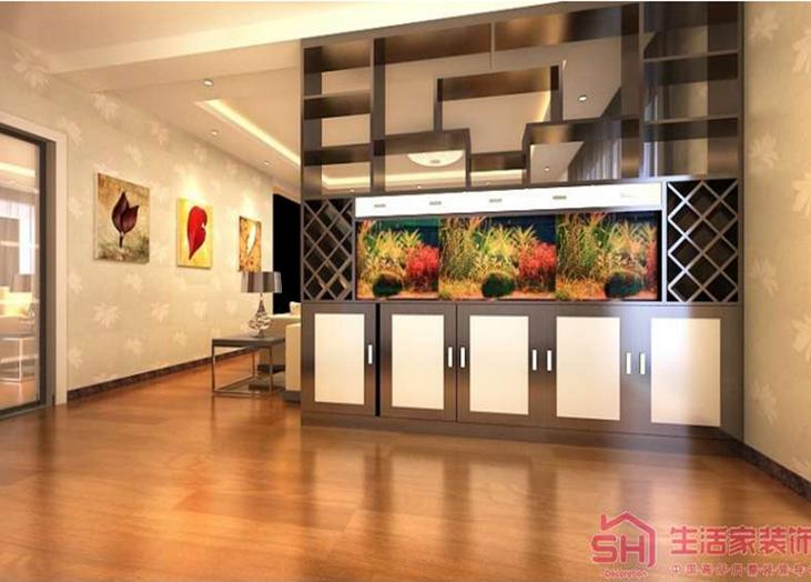 现代的生活,休闲,自在。这套方案清新自然,有种宁静以致远的感觉。注重居室的空间布局与使用功能的完美结合,客厅与餐厅之间的柜体既满足使用功能,同时也达到了美观效果。
