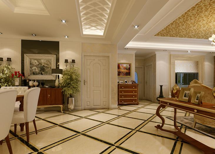 欧式客厅装修效果图