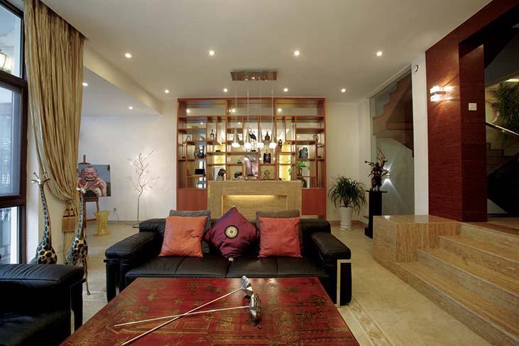 中式装饰品陈列架