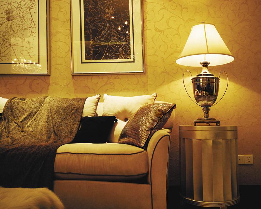欧式沙发背景墙