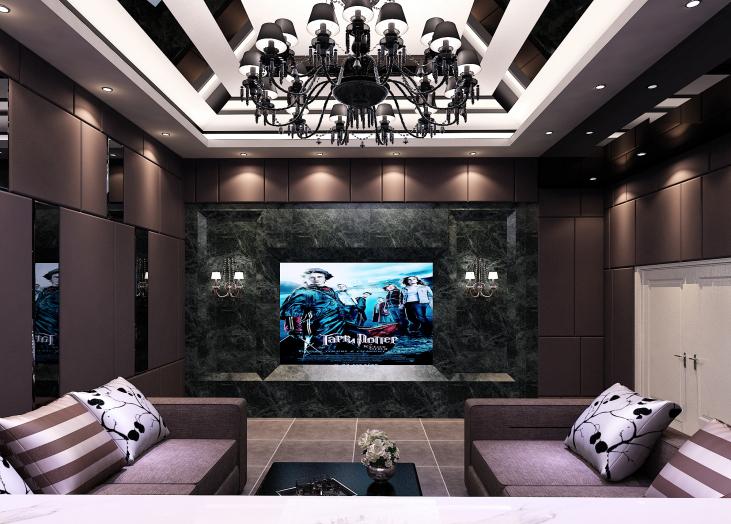 混搭客厅装修效果图