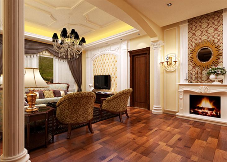 欣和家园 客厅 合肥装修效果图