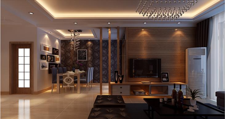 福乐门国际广场 客厅 合肥装修效果图