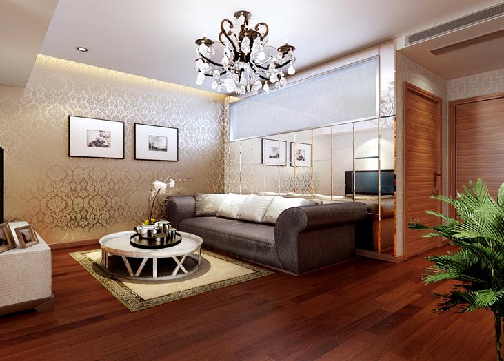 尚顿公寓-D户型客厅