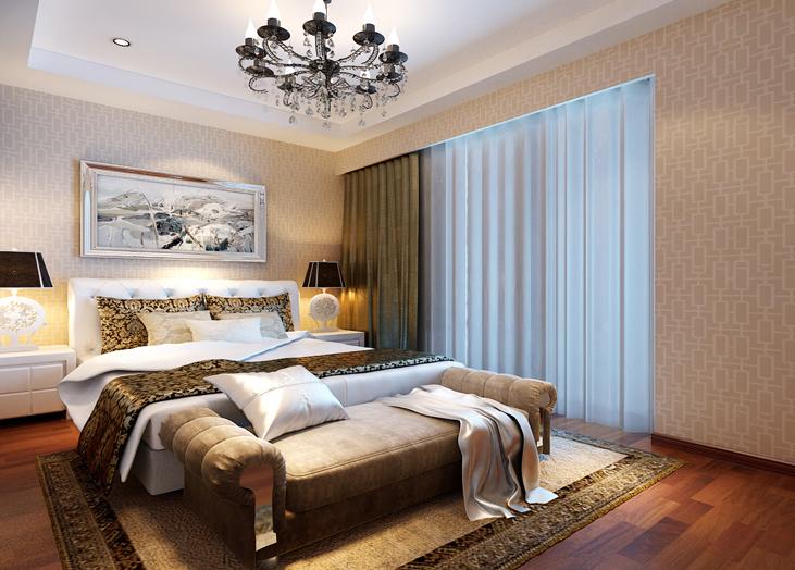 尚顿公寓-D户型卧室