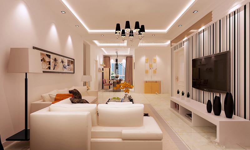 世纪锦都 客厅-合肥装修效果图