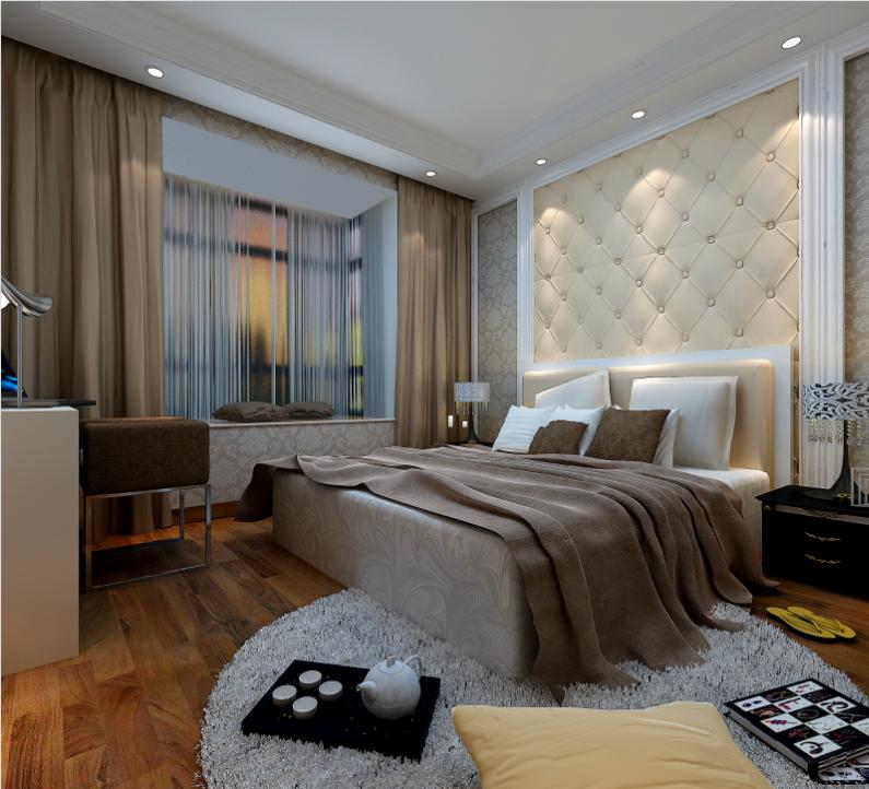 昆明市西南海小区-卧室-昆明装修效果5