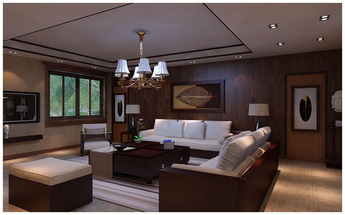 昆明市广福小区东区-客厅-昆明装修效果1