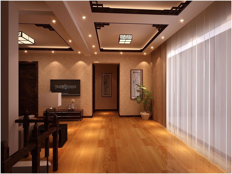昆明市枫林盛景小区-二楼起居室-昆明装修效果1