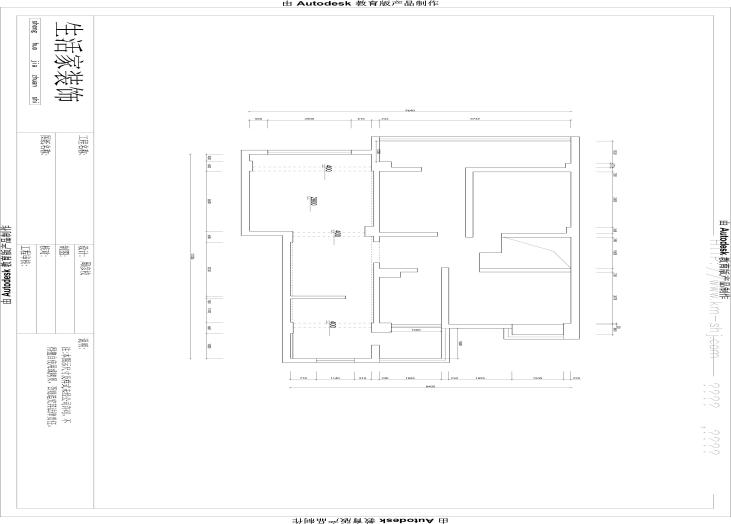 昆明市大观楼-原始一楼户型图-昆明装修效果4