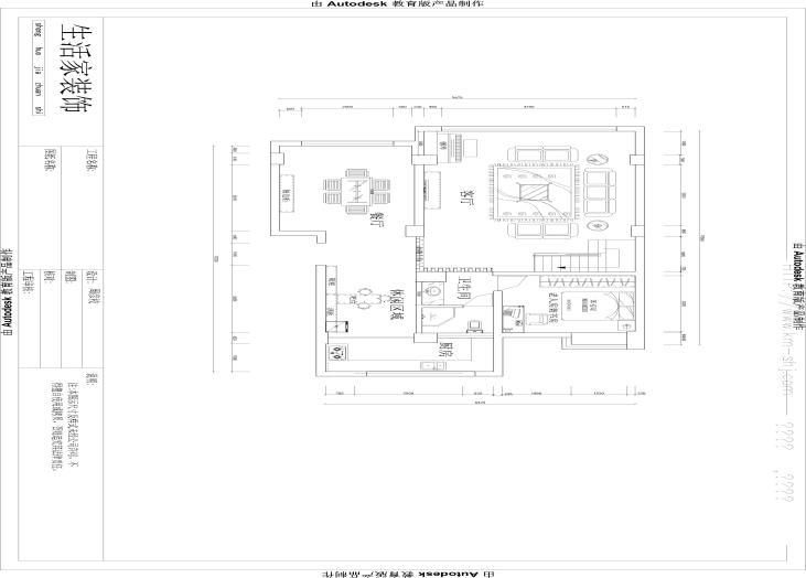 昆明市大观楼-一楼平面布局图-昆明装修效果5