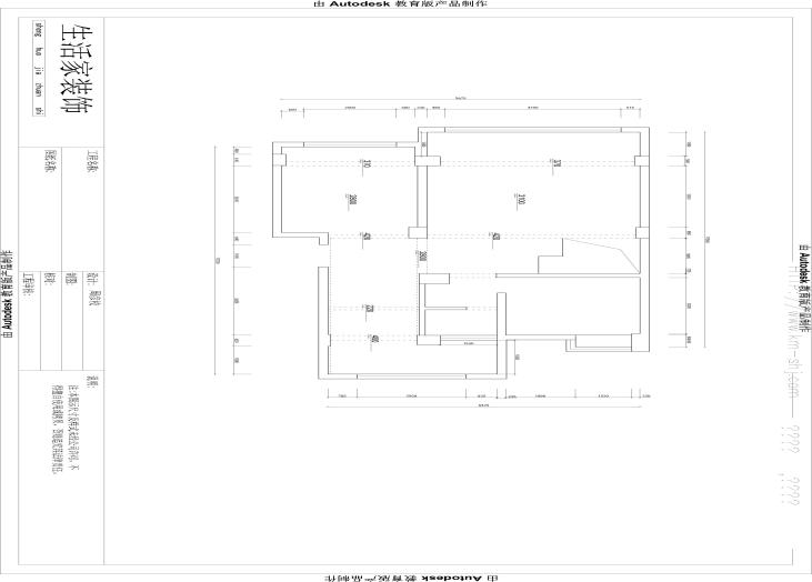 昆明市大观楼-原始二楼户型图-昆明装修效果7