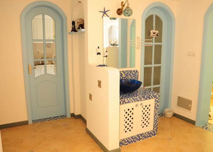 地中海客厅装修效果图