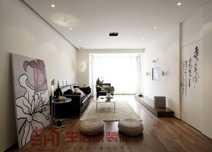 西安华鑫学府城客厅装修效果图
