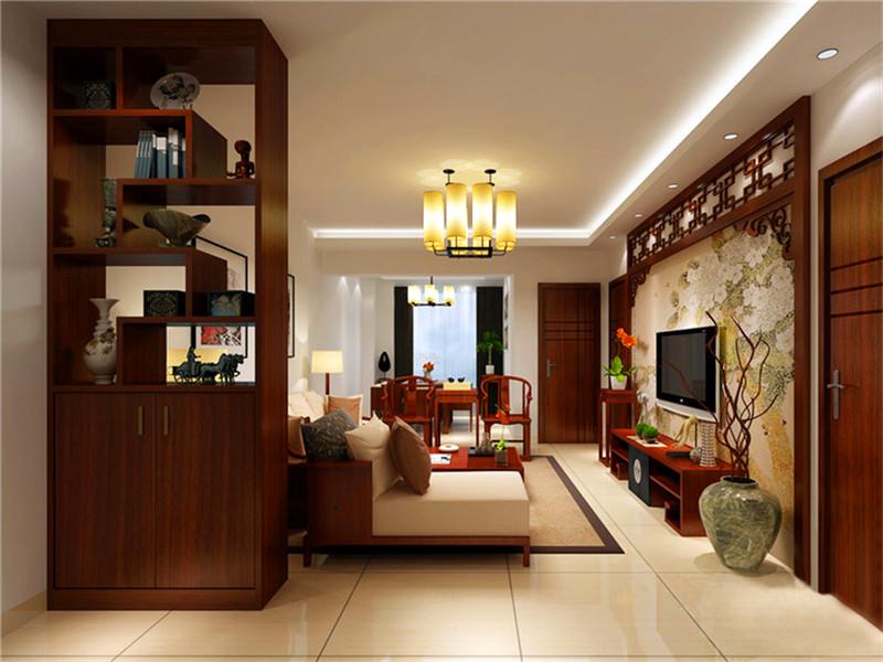 設計理念:本案例是中式風格裝修效果圖。中國傳統的室內設計融合了莊重與優雅雙重氣質。中式風格更多的利用了后現代手法,把傳統的結構形式通過重新設計組合以另一種民族特色的標志符號出現。