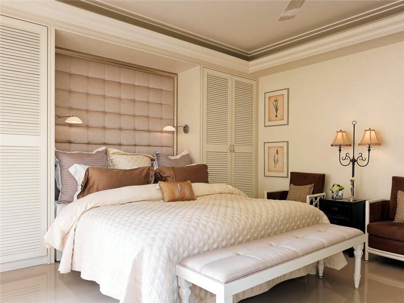 設計說明:臥室給人的感覺很悠然,在這里你能更放松的享受寧靜的休息時光。
