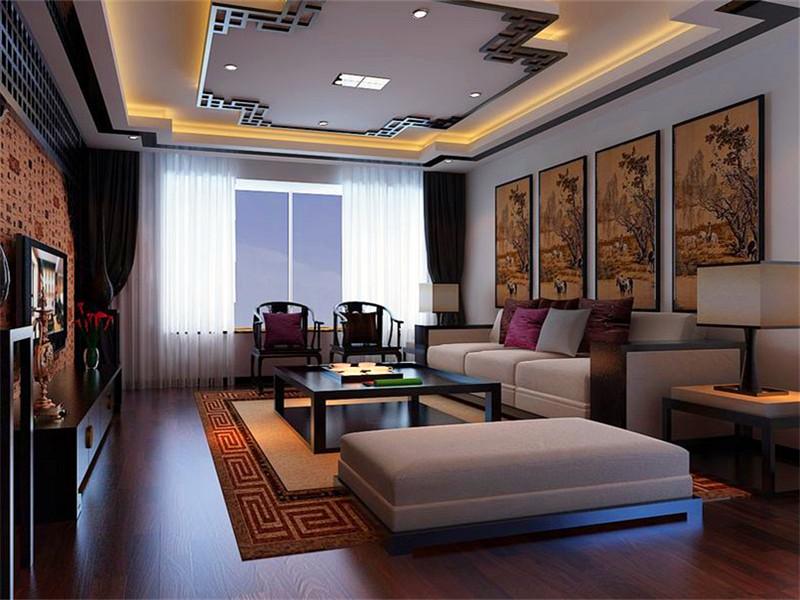 設計說明:中國傳統風格的裝修,這種風格最能體現中式的家居風范與傳統文化的審美意蘊。