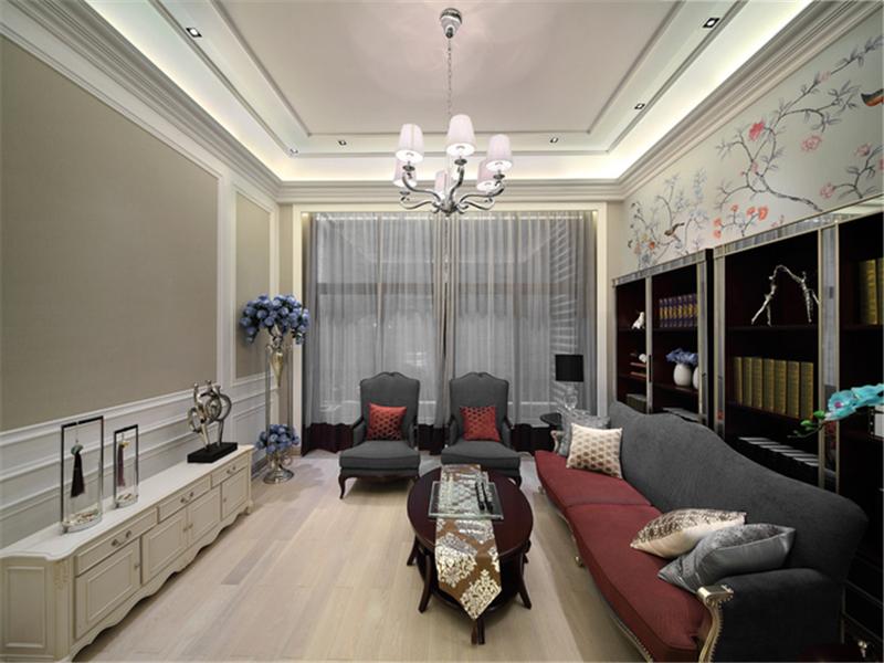 設計理念:摒棄了傳統歐洲風格的繁復與臃腫,簡歐風格基于實用功能之上以簡單的線條、淡雅的色彩、恰到好處的裝飾呈現與古典風格不同的格調樣式,在保持簡約洗練的前提下采用極富歐洲古典風韻的經典元素,以歐式復古的家具、雕花的門窗、花團錦簇的地毯、印花的墻壁等元素營造歐洲風情。