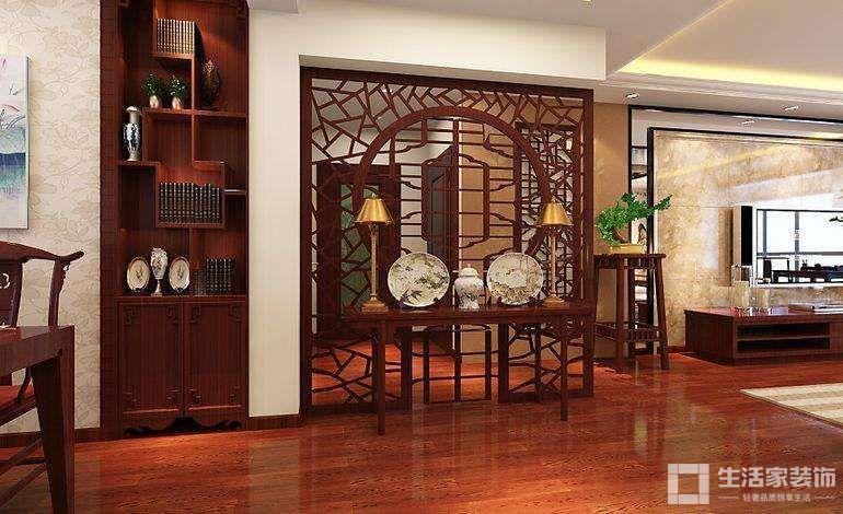 家装中式风格原则 空间