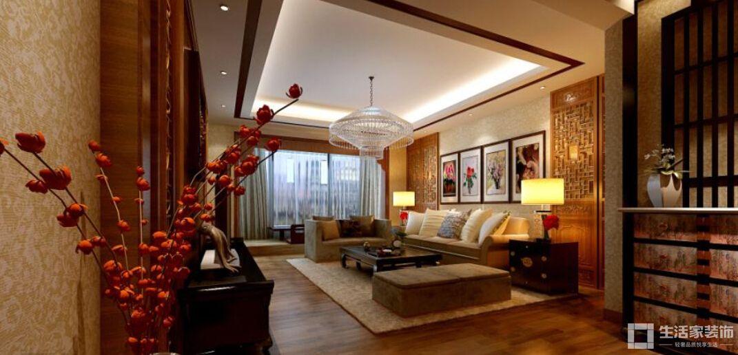 家装中式风格原则 色彩