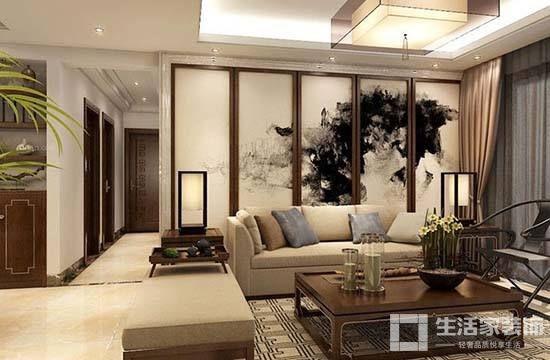 家装中式风格原则 图案
