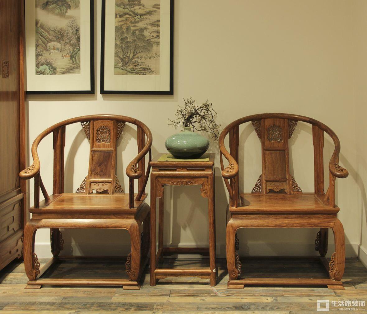家装中式风格原则 圈椅