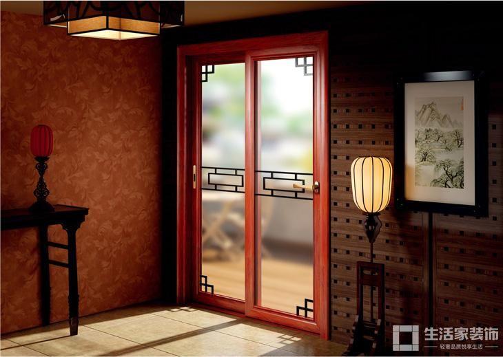 家装中式风格原则 门窗风格1