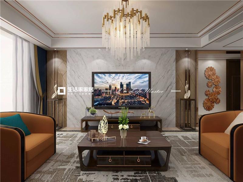 1客厅电视背景