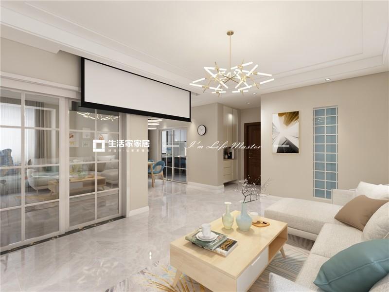 客厅对于家庭成员来说,除了是多功能,多用途的空间,还是生活空间的中心。它的最佳位置是在餐厅旁边,与私人空间分开。在设计时考虑了家庭成员的数量,访客量和家族风格,它通过摆设家具,建立了一个稳定的区域,在所提供的空间里满足需求