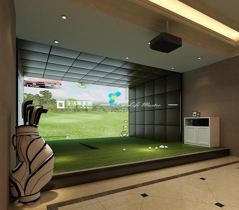 04室内高尔夫区1