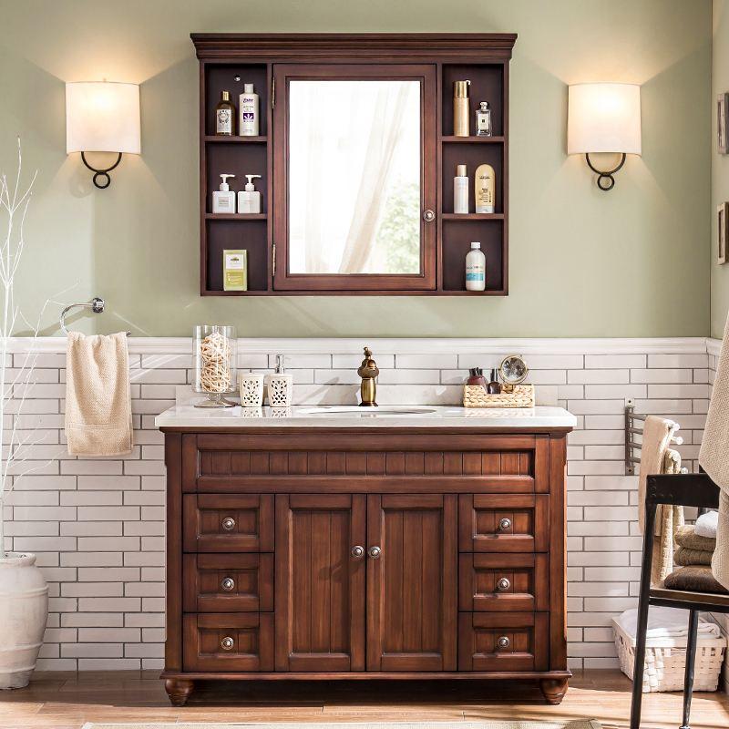 如何选择浴室柜