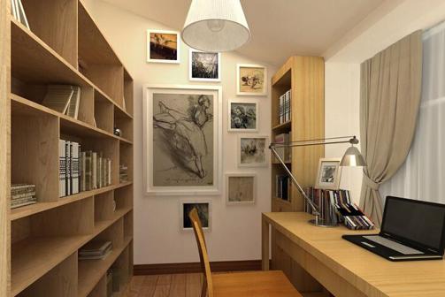 书房装潢,书房装修