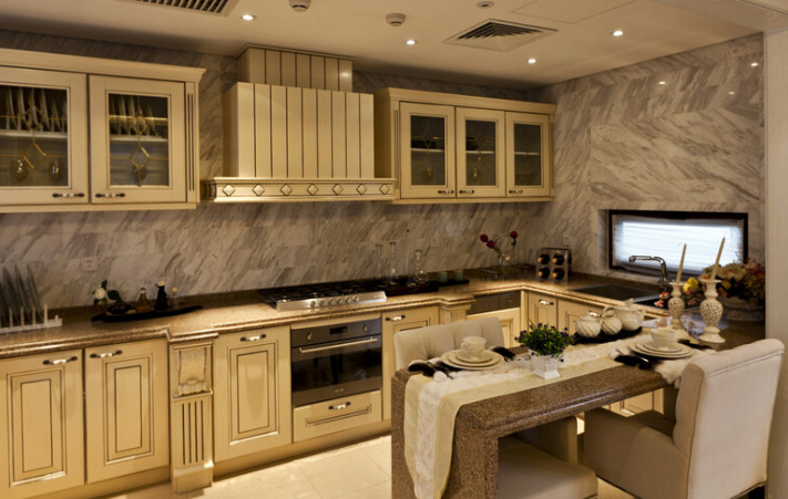 厨房装潢设计效果图