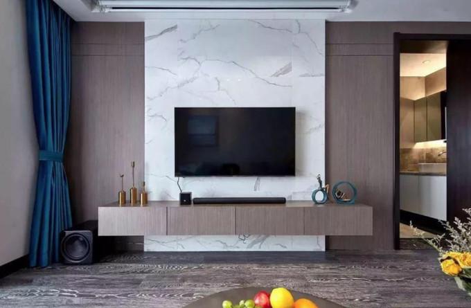 中式装修电视背景墙
