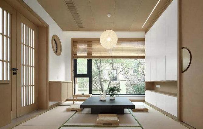 现代日式装修风格