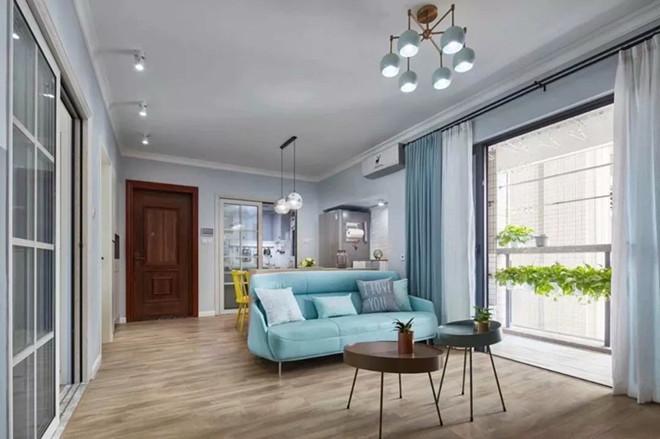 武汉装修公司【王家湾中央生活区】120㎡ ,三室两厅 北欧风格